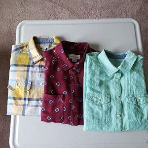 Women button down full sleeve shirt bundle